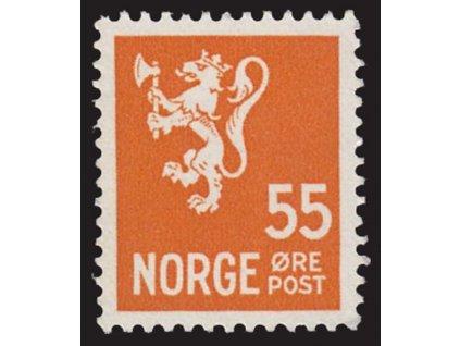 1949, 55Q Znak, MiNr.321, * po nálepce