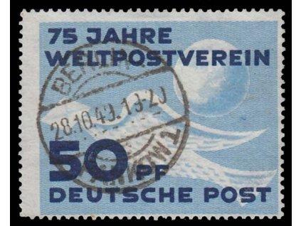 1949, 50Pf UPU, MiNr.242, razítkované