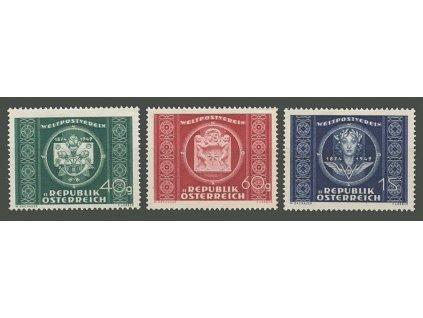 1949, 40g-1S série UPU, MiNr.943-45, * po nálepce