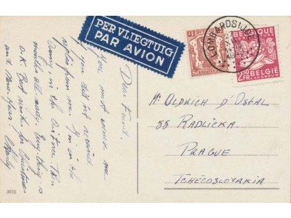 1949, DR Lombardsijde, letecká pohlednice