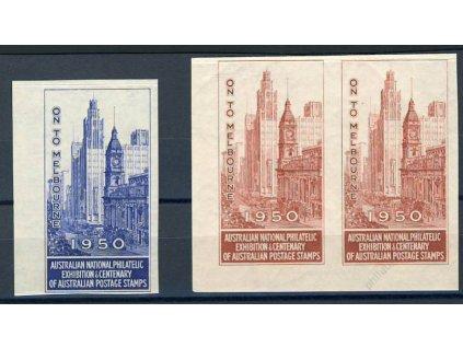 Melbourne, 1950, Výstava známek, **