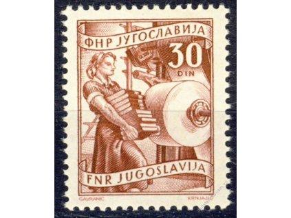 1950, 30Din Pracující, MiNr.638, **