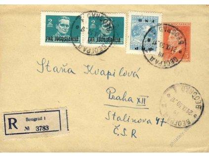 1950, DR Beograd, R-celinová obálka 3D