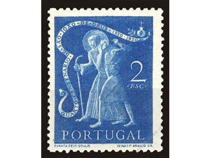1950, 2E sv.Johann, MiNr.756, **