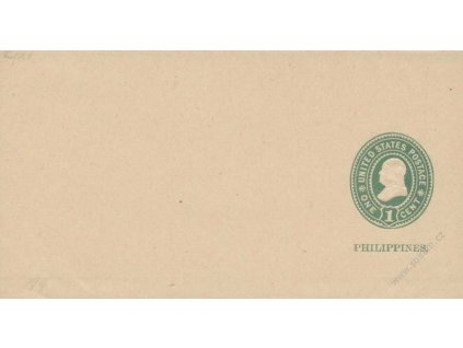 Filipíny, 1899, 1C novinová páska, neprošlé