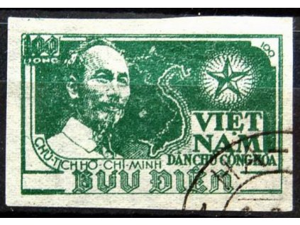 Vietnam-Nord, 1951, 100D Ho Chi Minh,