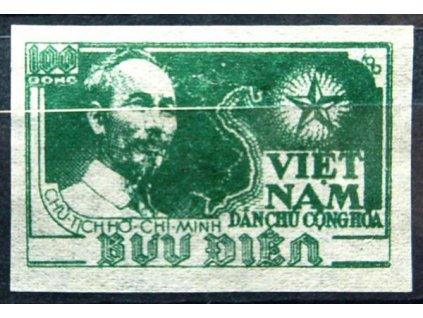 Vietnam-Nord, 1951, 100D, MiNr.5B, (*)