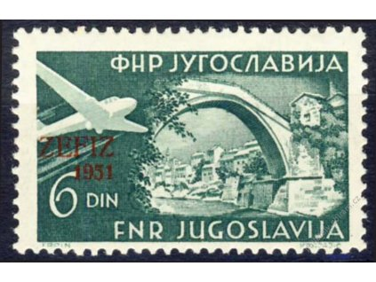 1951, 6Din letecká Zefiz, MiNr.653, **