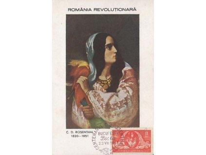 1951, Carte Maxima C. D. Rosenthal, MiNr.1271