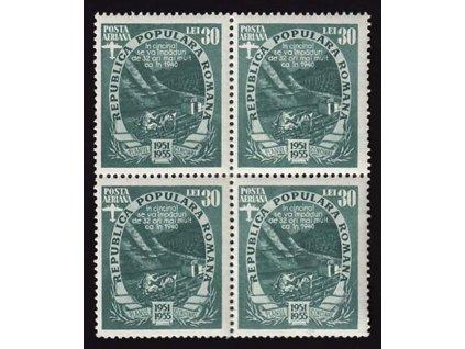 1951, 30L letecká, 4blok, MiNr.1286, **
