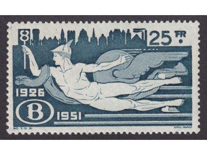 1951, 25Fr železniční, MiNr.296, **