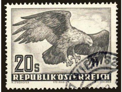 1952, 20S letecká, MiNr.968, razítkované