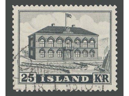 1952, 25Kr Parlament, MiNr.277, razítkované