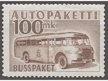 1952, 100M Auto-Paketmarken, MiNr.9, **