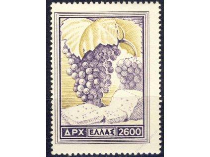 1953, 2600Dr Ovoce, MiNr.601, **