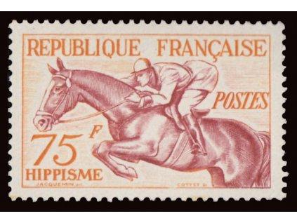 1953, 75Fr Sport, MiNr.983, **