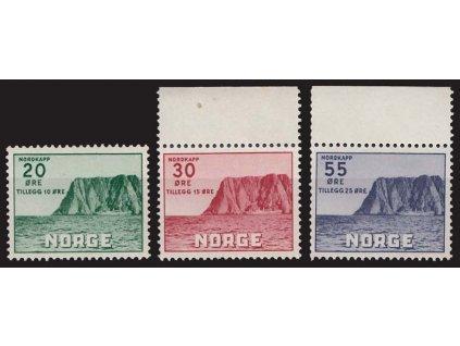 1953, 20-55Q série, MiNr.380-82, **/*