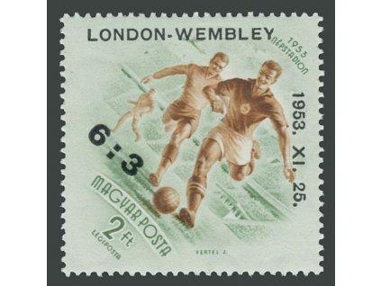 1953, 2Ft London-Wembley, MiNr.1340, * po nálepce