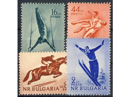 1954, 16St-2L série Sport, MiNr.928-31, **