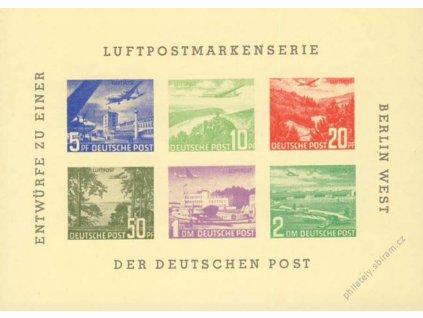 1955, Berlin West, výsadní tisk, (*)