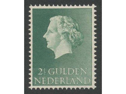 1955, 2 1/2G Juliana, MiNr.661, **