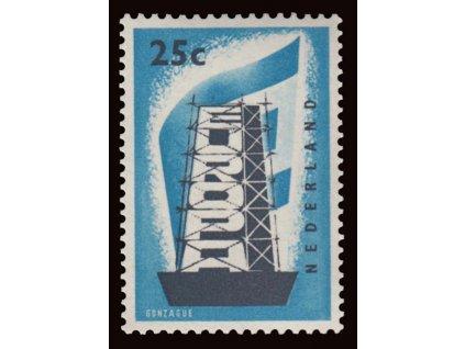 1956, 25C Europa, MiNr.684, **