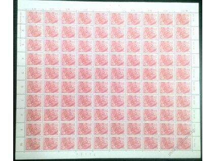 1957, 30Pf Pětiletka, 100 ks arch, MiNr.582, **