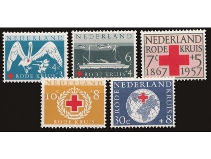 1957, 4-30C série, MiNr.699-703, **