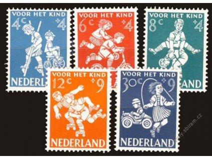 1958, 4-30C série Dětem, MiNr.723-27, **