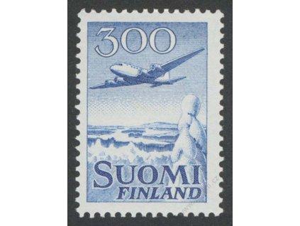 1958, 300M letadlo, MiNr.488, * po nálepce