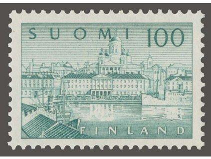 1958, 100M Helsinky, MiNr.496, **
