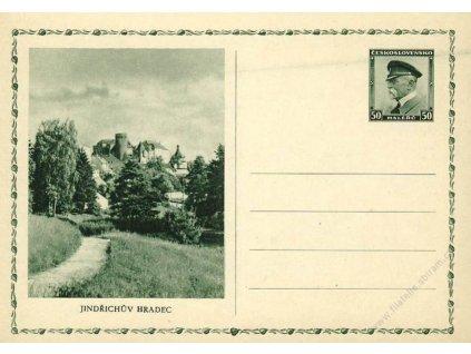CDV 59 (3) Jindřichův Hradec, VV - šmouha