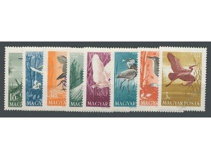 1959, 10f-3Ft série známek Ptáci, **