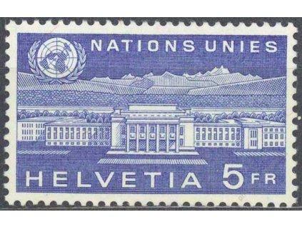 1960, ONU/UNO, 5Fr Palác národů, **