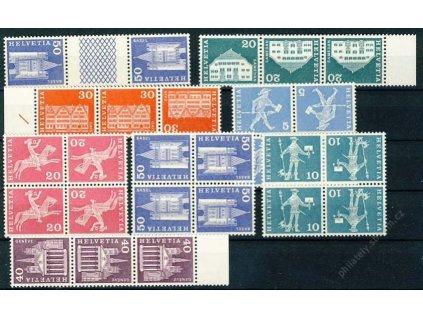 1960, 8 kusů protichůdných dvojic, **