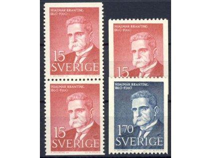 1960, 15Ö-1-70Kr série, sestava, MiNr.465-66, **