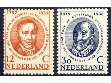 1960, 12-30C série, MiNr.751-52, **
