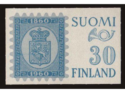 1960, 30M Výročí známky, MiNr.516, **