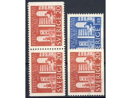 1961, 20Ö-1.40Kr série Knihovna, MiNr.476-77, **