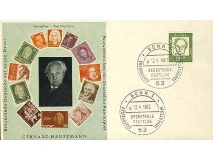1962, FDC MiNr.362, DR Bonn