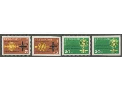 1962, 5-20St série Malárie, MiNr.1308-9, **