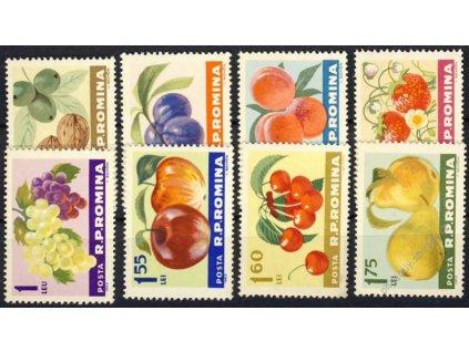 1963, 10B-1.75L série Plodiny, MiNr.2176-83, **