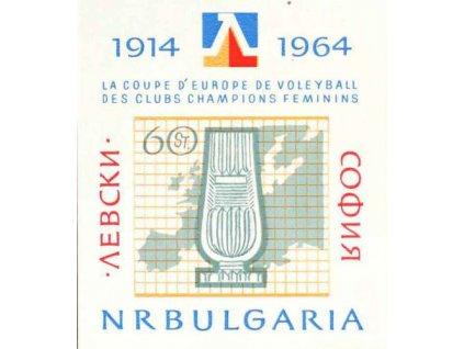 1964, aršík, MiNr.Bl.13, **