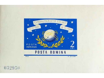 1964, aršík, MiNr.Bl.56, ** , drobná vada lepu