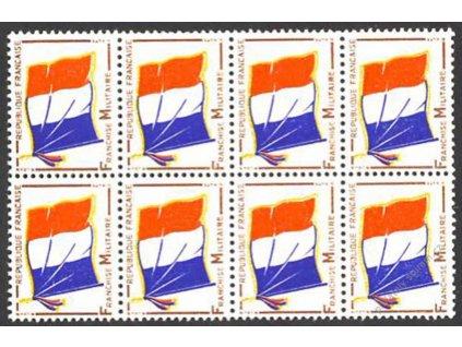 1964, (-) vojenská, MiNr.13, ** , 8blok