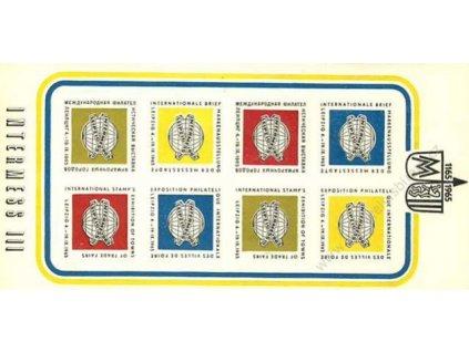 Intermess, 1965, PL nálepek, ** , dv