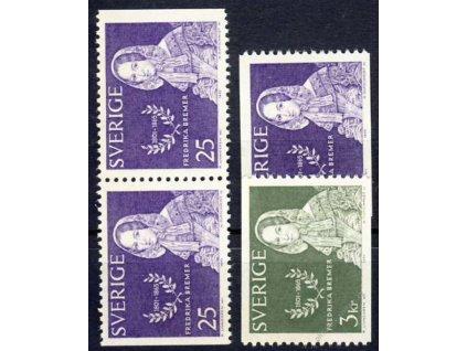 1965, 25Ö-3Kr série Bremer, MiNr.540-41, **