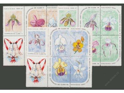 1966, 1-13C série Flóra, MiNr.1249-63, ** , soutisky
