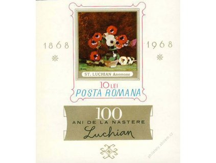 1968, aršík, MiNr.Bl.66, (*)
