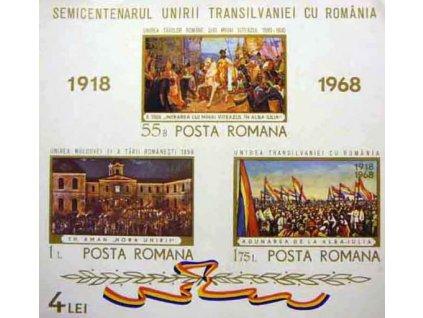 1968, aršík, MiNr.Bl.68, (*) , dv